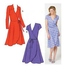 NEW | Kwik Sew Misses Sewing Pattern 3489 Wrap Around Dresses | FREE SHIPPING