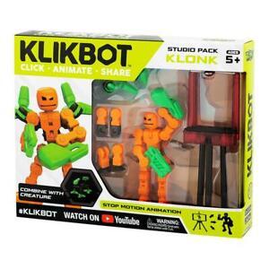 KlikBot Studio Pack Action Figure Klonk New & Sealed FREE POST