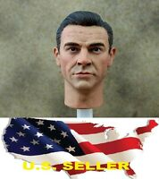 1/6 Sean Connery James Bond head sculpt for 0007 hot toys COOMODEL ❶US Seller❶