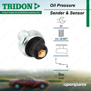 Tridon Oil Pressure Switch for Ford Falcon XA - XW LTD Transit 6Cyl 8Cyl