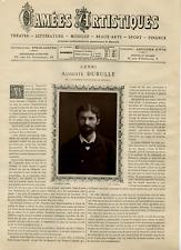 Goupil, France, Camées Artistiques, Auguste Dubulle vintage print Photoglyptie
