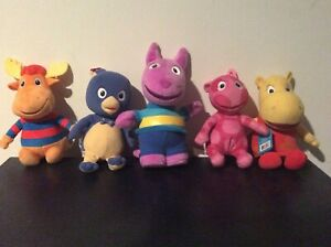 Backyardigans Plush Ty Fisher-Price Complete Character Lot