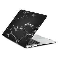 "Air 13-Inch Black Marble Rubberized Hard Case for Macbook Air 13"" A1369 & A1466"