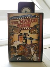 MARCO MINNEMANN ´The Marco Show´ DVD Schlagzeug Drum DVD