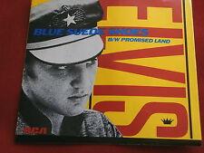 ELVIS PRESLEY~BLUE SUEDE SHOES~BLUE WAX~UNPLAYED STORE STOCK~RCA ~ POP 45