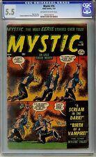 Mystic 16 CGC 5.5 OW/W Golden Age Comic Pre Code Horror PCH Comic L@@K