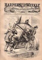 1877 Harpers Weekly November 10-Cranberries of Ocean County NJ;Catholic Spider