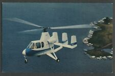Air & Space Mfg. Co. Muncie IN - Postcard 1st PRODUCTION GYROPLANE Model 18A