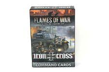 Flames Of War German Iron Cross Command Cards New