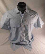 VTG Polo Country BLUE Shirt SMALL 90s S/S Ralph Lauren Dry Goods work men