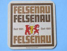 Beer Bierdeckel Coaster ~ Brauerei FELSENAU ~ Bern, SWITZERLAND Since 1881; Bear