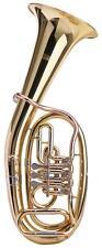 Corne Tenor Trompe Instrument Cuivre Tuba Bb Laiton Coffre Transport Set