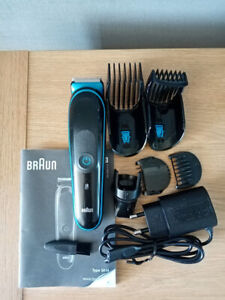 Braun 7-in-1 All-in-one Trimmer 3 Styling Kit Hair Clipper and Beard No Box
