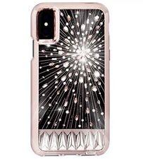 Cm Case Mate Luminiscente Luz-Up Estuche Con Cristales Genuino iPhone x NUEVO