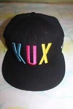 KUX Crowns Guam West Pacific Clan Men's Black Hat Snapback Our Waters Run Deep