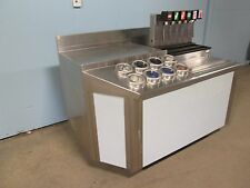 """Wasserstrom"" Hd Commercial Ss Beverage Station w/""Cornelius"" Soda Dispenser"