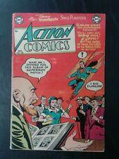 ACTION COMICS #185 DC Comics October 1953 SUPERMAN Golden Age 10 Cent! VG- 3.5!