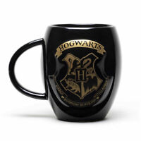 Harry Potter Oro Emblema di Hogwarts Ovale Mug 426ml Ceramica Tazza Mgo0015