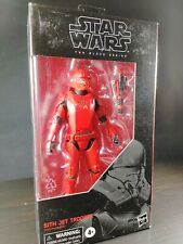 Hasbro Star Wars BLACK SERIES #106 Sith Jet Trooper 6 inch Action Figure