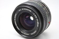 Minolta MC W.Rokkor 1:3.5 28mm Lens *As Is* #V011c