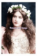 rp10712 - Silent Film & Stage Actress - Maude Fealy - photograph 6x4