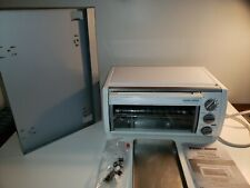 Black & Decker SpaceMaker TROS1500 Toaster Oven w Mounting Bracket, Manual, Pans