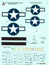 1:48 Accurate Miniatures Decals 3405  x - TBF-1C Avenger