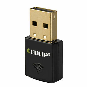 USB WiFi Adapter 300Mbps Wireless Network Laptop 2.4GHz Mini Dongle EDUP N1557