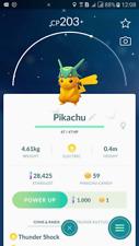 Pokemon Go Shiny Pikachu wearing Rayquaza Hat - Trade 20.000 stardust