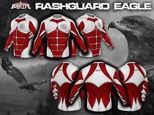 HighType Polish Eagle Rash Guard MMA BJJ Fightwear Compression Training