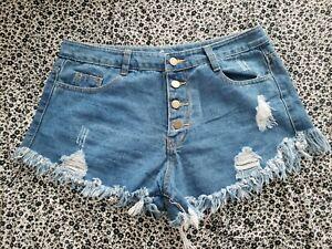 Women's Cut Off Jean Shorts NWOT Sz XL Daisy Dukes/ Short Shorts CUTE!!