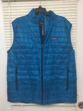 Patagonia Nano Puff Vest Balkan Blue Mens SIZE XL NEW With TAG