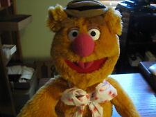 """2003 Fozzie Bear Jim Henson Sababa Toys 18"""" Tall Dn Sh 3"""