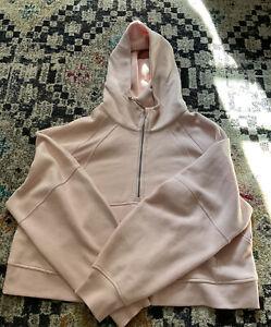 Women's Lululemon  Scuba Oversized 1/2 Zip Hoodie in Pink Mist Size XL/ XXL