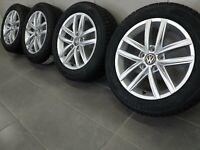16 Zoll Winterräder original VW Golf VI 6 VII 7 5G0601025CS Hita Felgen NEU