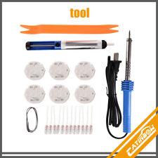 Gauge Instrument Cluster Repair Kit Stepper Motors x27.168+Soldering Iron+Bulbs