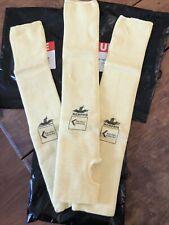 """(3 Sleeves)  ULINE  Sleeve  18"""" THUMB HOLE S-11432 NEW"""