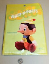 SEALED NEW Vtg 70's Disney Pinocchio Huff N' Puff Inflatable Toy Decor Rare NOS