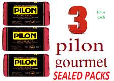 Cafe Pilon Gourmet Espresso Roast Coffee 3PACKS X 10 OZ EACH