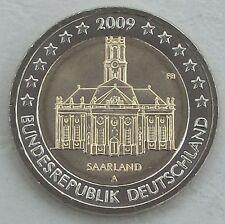 2 Euro Deutschland 2009 A Saarland unz