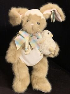 Bearington Eggs & Benedict #420140 Bunny Rabbit & Chick Plush Toy Doll NWT
