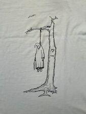 Genuine 1991 Jim Thiebaud Hanging Klansman T-shirt Real Skateboards Very Rare