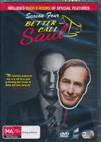 Better Call Saul Season Four 4 DVD NEW Region 4