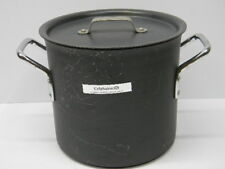 Commercial Aluminum Cookware Calphalon 8 Quart Stock Pot 808 and 310 Lid