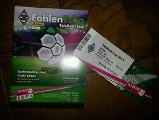 Programm + Ticket Telekom-Cup 2017  FC Bayern Werder Bremen Hoffenheim Gladbach