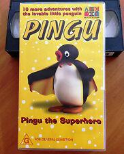 PINGU - PINGU THE SUPER HERO - ABC FOR KIDS - VHS