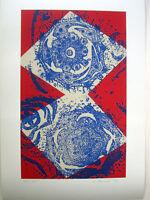 DIETER HAACK - 1993 - Farbsiebdruck - HANDSIGNIERT, NUMMERIERT