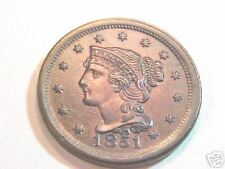 1851 Large Cent...Uncirculated..Gem Mintstate..Sensational