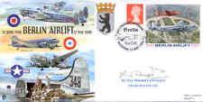 CC62c Berlin Airlift RAF cover signed AVM Siegert DFC