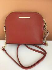 Steve Madden handbag BMaggie Persimmon Dome Handbag Crossbody New